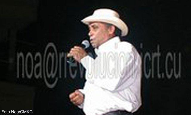 Polo Montañez en el Teatro Heredia de Santiago de Cuba