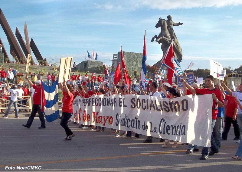Comenzó festejo por el Primero de Mayo en Santiago de Cuba