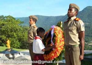 Homenaje a Juan Almeida en el Tercer Frente Oriental. Foto miguelitonoa@gmail.com