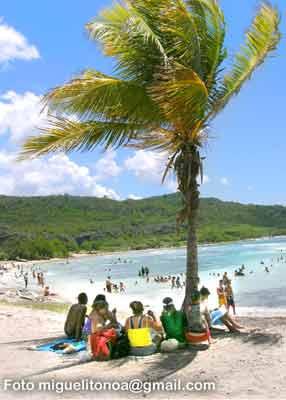 Las playas fueron una buena opción este verano. Foto miguelitonoa@gmail.com