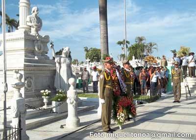 Aniversario 144 del primer grito de libertad en Cuba . Foto miguelitonoa@gmail.com