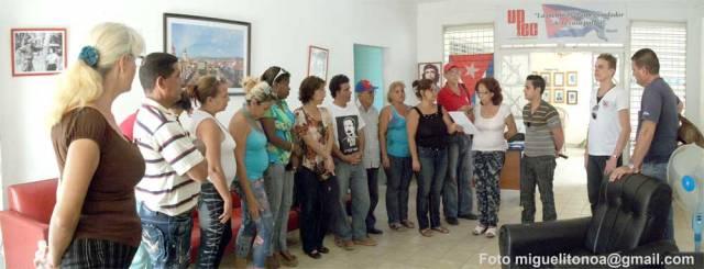 En Santiago de Cuba gesto solidario de periodistas de la isla