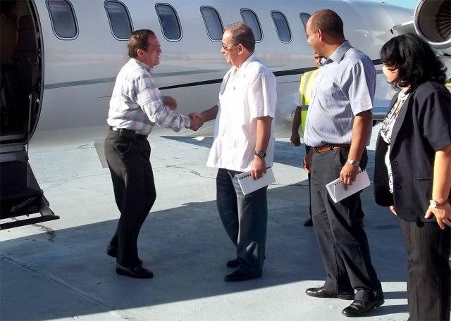 Canciller de Ecuador, Ricardo Patiño visita Santiago de Cuba