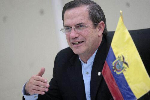 El canciller ecuatoriano, Ricardo Patiño, realizará una visita oficial a Cuba