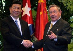 Raúl Castro y Xi Jinping. Foto Ismael Francisco