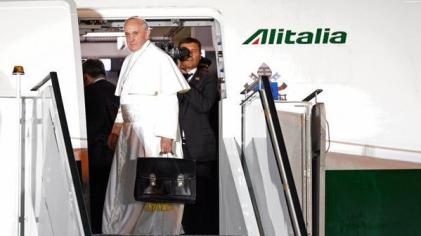 Papa Francisco rumbo a Cuba